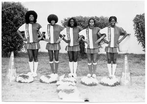 Primary view of object titled '[Cheerleaders]'.