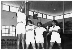 Primary view of object titled '[Physical Education Class]'.