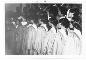 Primary view of object titled '[St. Philip's College Choir]'.
