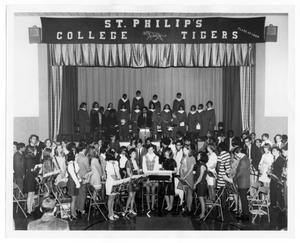 Primary view of object titled '[St. Philip's College Choir and Community Participants]'.