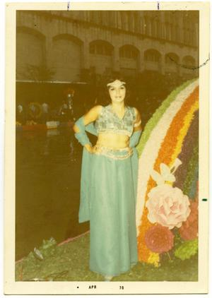Primary view of object titled '[Fiesta Flambeau Night River Parade]'.