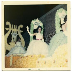 Primary view of object titled '[Fiesta Flambeau Night Parade]'.