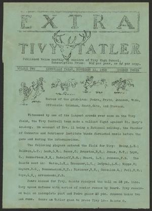 Tivy Tattler, Volume 2, Number 3, November 11, 1925