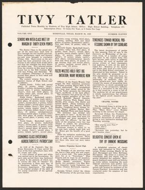 Tivy Tattler, Volume 1, Number 11, March 30, 1925