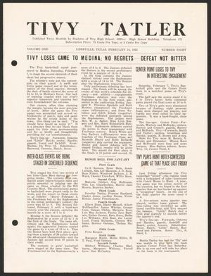 Tivy Tattler, Volume 1, Number 8, February 16, 1925