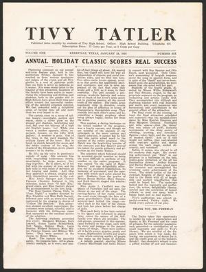 Tivy Tattler, Volume 1, Number 6, January 19, 1925