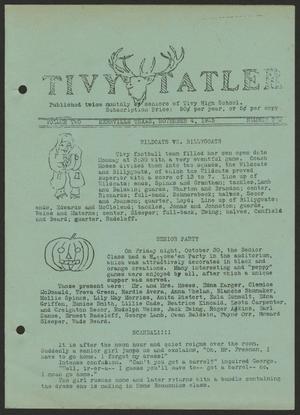 Tivy Tattler, Volume 2, Number 2, November 4, 1925