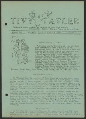Tivy Tattler, Volume 2, Number 5, December 2, 1925