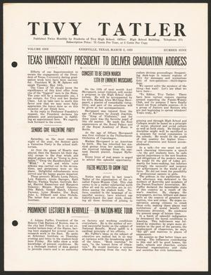 Tivy Tattler, Volume 1, Number 9, March 2, 1925