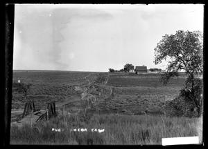 Primary view of object titled '[Farmhouse on Horizon]'.