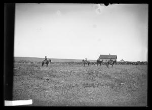 Primary view of object titled '[Cattle Drive]'.
