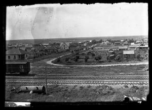 Primary view of object titled '[Railroad by Town]'.