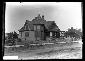 Primary view of object titled '[Two Story House]'.