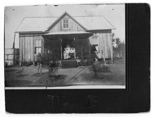 Primary view of object titled 'Dewees, Texas Post Office'.