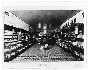 Primary view of object titled 'I. D. Flores Drug Store'.