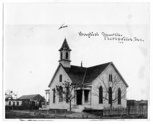 Primary view of object titled 'Floresville Baptist Church'.