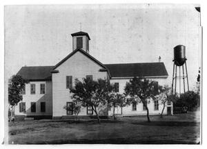 Primary view of object titled 'Floresville Public School'.