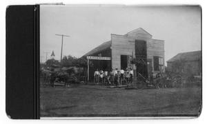 Primary view of object titled 'J.A. Vornon & Son Blacksmith Shop'.