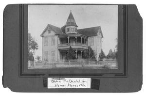 Primary view of object titled 'John McDaniel, Sr. Home'.
