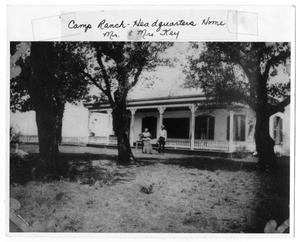 Primary view of object titled 'Camp Ranch Headquarters'.
