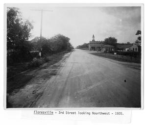 Primary view of object titled 'Third Street Floresville'.