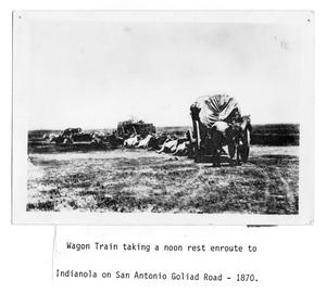 Primary view of object titled 'Wagon Train Rest'.