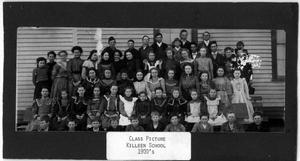 Primary view of object titled 'Class Picture Killeen School around 1900'.