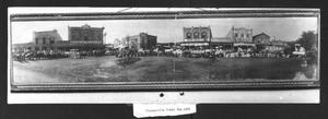Primary view of object titled 'Floresville Trades Day, 1906'.