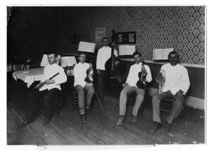Primary view of object titled 'White House Cafe Musicians'.