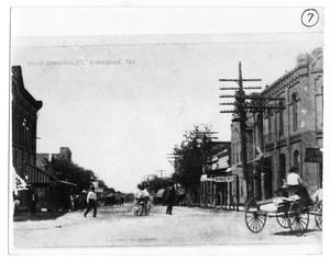 "Primary view of object titled '""C"" Street, Floresville, TX'."