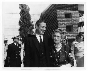 Primary view of object titled 'Governor Connally and Mother'.