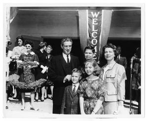 Primary view of object titled '[Connally Family at Event]'.