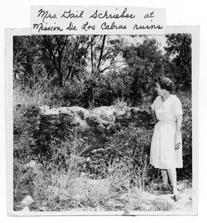Gail Schrieber at Rancho De Los Cabras Ruins