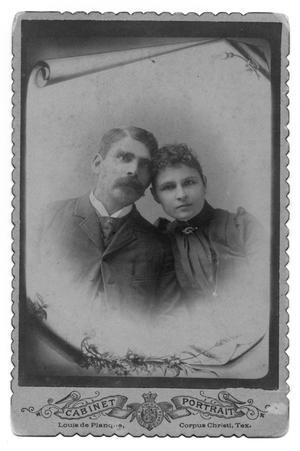 Primary view of object titled 'Texas Ranger Captain Joe Shely and wife, Mary Shely'.