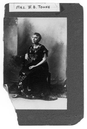 Mrs. W. B. Toone