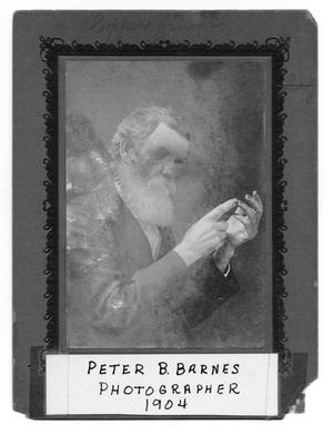 Primary view of object titled 'Peter B. Barnes'.