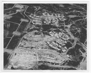Primary view of object titled '[Aerial view of Bell County]'.