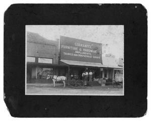 Primary view of object titled 'Poth Texas Stores, circa 1919'.