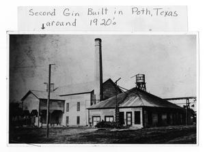 Primary view of object titled 'Second Gin built in Poth, TX'.