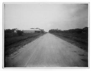 Primary view of object titled 'San Antonio to Cuero Road'.