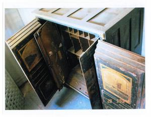 Primary view of object titled '[Wooden Cabinet]'.