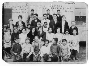 Primary view of object titled '[Dewees School Students]'.