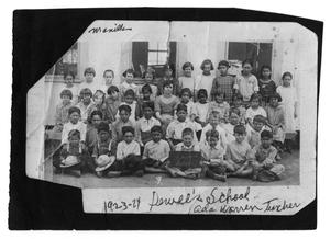 Primary view of object titled '[Young School Children]'.