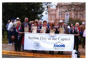 Primary view of object titled '[Senior Day at the Capitol]'.
