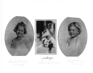 Primary view of object titled '[Three Photos of the Remschel Family]'.
