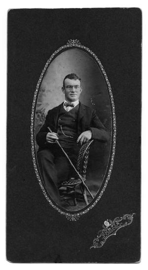 [Photograph of J. E. Canfield]
