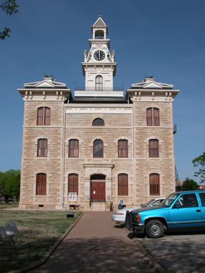 Primary view of object titled '[Shackelford County Courthouse]'.