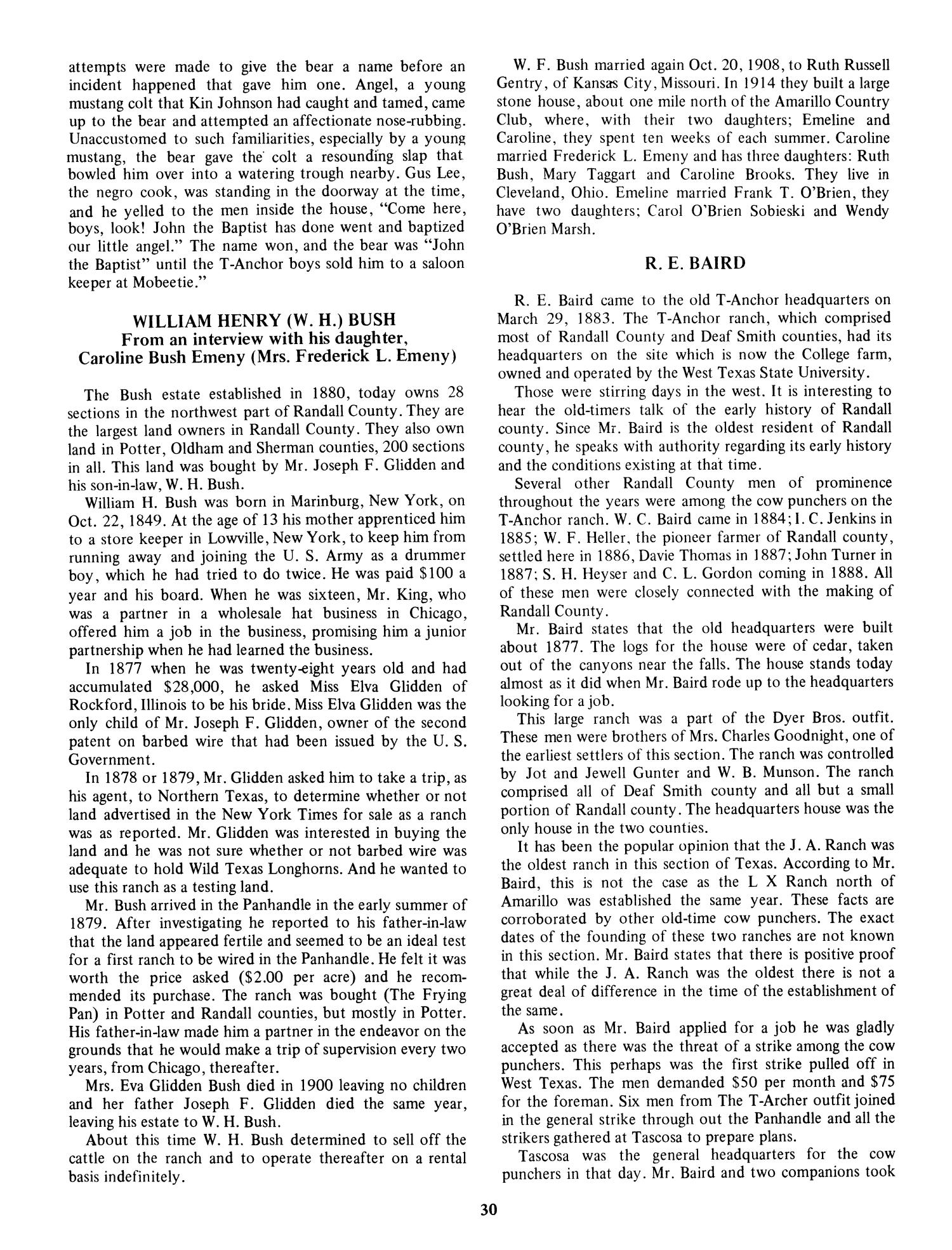 Kansas jewell county randall - The Randall County Story From 1541 To 1910 Page 30 The Portal To Texas History