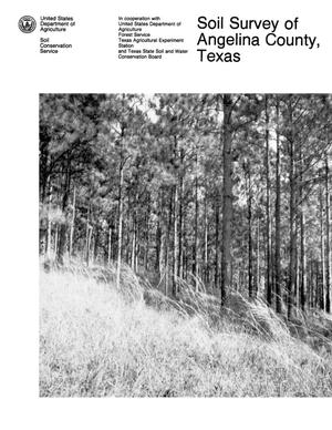 Primary view of object titled 'Soil Survey of Angelina County, Texas'.
