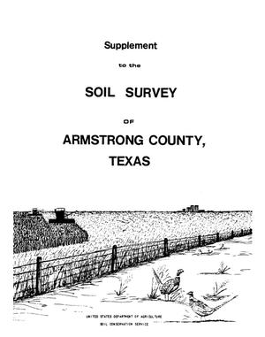 Supplement to the Soil Survey of Armstrong County, Texas